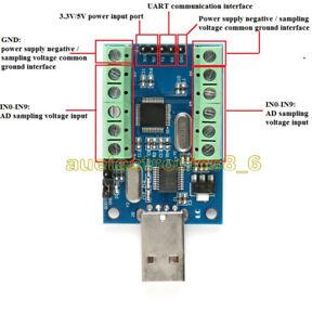 STM32F103C8T6 10 Channel AD Sampling Data Acquisition STM32 UART ADC Module NEW