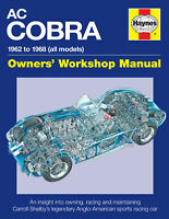 AC Cobra 1962-1968 Owners Manual - all models