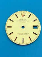 GENUINE ROLEX OYSTER PERPETUAL DATEJUST 6917 DIAL 1978 20MM VINTAGE