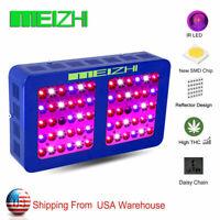 Meizhi 1200w 2pcs 600w Led Grow Light Full Spectrum Indoor