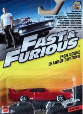 1969 Dodge Charger Daytona Dom Fast & Furious 1:55 Mattel FCF92 FCF60