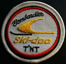 """VINTAGE SKI-DOO T'NT SNOWMOBILE PATCH NEW ABOUT 4"""" X 4"""" NEW NICE"""
