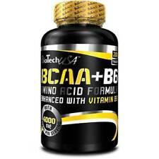 BCAA+B6 von BioTech USA 200 x 1000mg  Diät und Muskelaufbau + BONUS