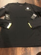 New Nike Pittsburgh Steelers NFL Football Pullover Shirt Size Medium Black Gold