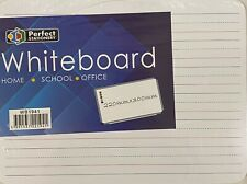 A4 Handheld Wipe Clean Lined Whiteboard. Great for Writing Practice or Chores