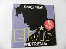 ELVIS & FRIENDS LITTLE RICHARD JERRY LEE LEWIS BILL HALEY CHUCK BERRY PROMO CD