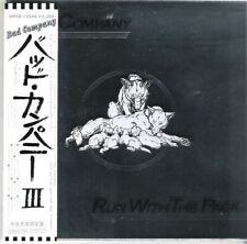 CD BAD COMPANY RUN WITH THE PACK 2007 MINI-LP sleeve JAPAN + OBI WPCR-12544