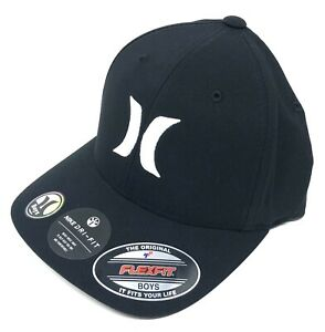 Hurley Kids' Boys' Youth Dri-FIT One and Only Flex Fit Hat Cap (One Size)