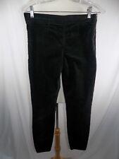 GAP 1969 Side Zip Legging Jeans Women's 28 R  Green Fuzzy Pants 28 x 28