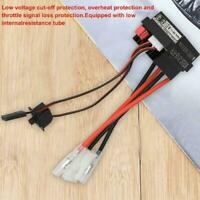 High Voltage Waterproof 320A Brushed ESC Speed Controller Car Motor For RC Q4J2