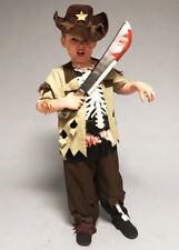 Kids Size Halloween Zombie Sheriff Boy Costume