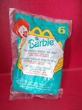New McDonalds Happy Meal Toy Hollywood Nails Barbie Doll w/ Stickers Mattel 1999