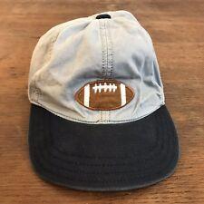 Gymboree Football Elastic Cotton Hat Cap Size 18-24 Months (CH23)