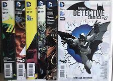 Batman Detective Comics No's 27-32 NM The New 52 Great Bundle Deal 2014