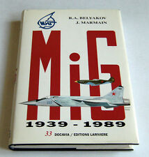 Aeronautica Aircraft - MiG - 1939 1989 - Collection Docavia - vol. 33 - ed. 1991