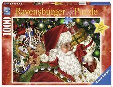 RAVENSBURGER CHRISTMAS PUZZLE*1000 T*SANTA CLAUS*WEIHNACHTSMANN*WEIHNACHTEN*RAR