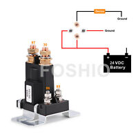 500A Disconnect Relay 4-Pin 24V Heavy Duty Starter Battery Isolator Opener US