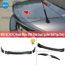 For Mazda MX5 NC NCEC Roster Miata GVN Style FRP Rear Ducktail Wing (Soft Top)