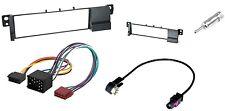 Set Radioblende BMW 3 ( E46 ) + ISO + Antenneadapter - Einbaurahmen Autoradio