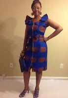 African woman dress size M,L