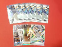 (9) Card Willy Adames Lot Tampa Bay Rays Rookie Bowmans Best Topps Chrome Sepia