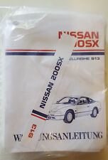 Werkstatthandbuch / Service manual Nissan 200 SX S13 1989, 90, 91, 92 & 93
