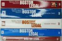 Boston Legal Complete Series ~ Season 1-5 (1 2 3 4 5) DVD SETS Shatner Spader