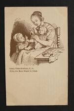 Künstler Litho AK Ludwig Richter 1900 ??? Vorläufer ??? Mutter Kinder spielen