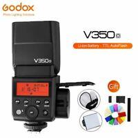Godox V350O Li-ion Battery TTL HSS 1/8000s Speedlite Flash For Olympus Panasonic