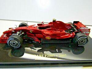 IXO / Altaya 1:43 Scale Die Cast Ferrari F2007 Kimi Raikkonen # 6