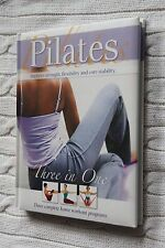 3 in One Collection: Pilates by J Pohlman (Hardback, 2006) new, free shipping