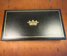 VTG Swank Men's  Jewelry Box Cufflink Case Crown Sweden Philippe SEE NOTES