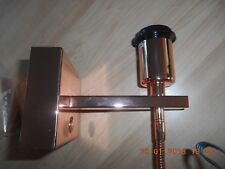 Chelsom Polished Copper Colour Wall Light New.