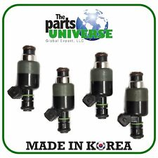 4 Injectors For Engine Fuel Injector Rail 17103677, 17108045 For Daewoo Cielo