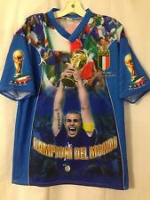 Italy 2006 World Cup All-Over Graphic Fabio Cannavaro T-Shirt XL