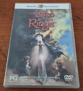 The Lord of the Rings - 1978 Animated Ralph Bakshi Tolkien  - RARE R4 DVD VGC