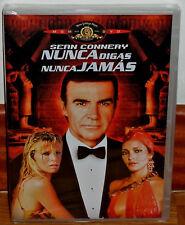 NUNCA DIGAS NUNCA JAMAS DVD NUEVO PRECINTADO ACCION THRILLER (SIN ABRIR) R2