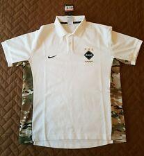 Nike F.C.R.B. Real Bristol Nikelab AS Camo Size L Dri-Fit Team Polo 716131-100