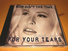 WENDY JAMES (transvision vamp) solo NOW AINT THE TIME FOR YOUR TEARS cd dg-24507
