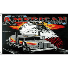 The American Way Flag 5Ft X 3Ft Usa America Truck Banner With 2 Eyelets New
