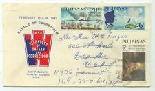 1967 Philippines 25th Anniversary Battle Of Corregidor Defenders of Bataan cover