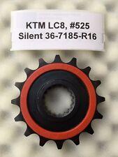 SILENT Pignone 16 denti KTM 950 SUPER ENDURO R, 06-09, 36-7185-r16, lc8, #525 NUOVO