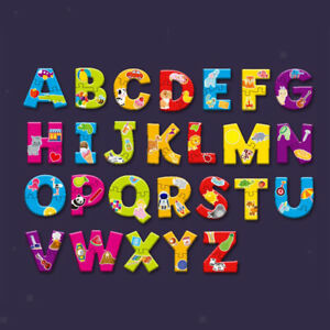 Alphabet Jigsaw Puzzle Match Game Cognition Develop Teaching Learning Toy