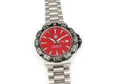 TAG Heuer Formula 1 Red Dial WAH1112.BA0850 F1 Quartz 40mm Date