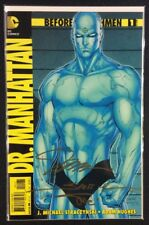 BEFORE WATCHMEN DR MANHATTAN #1 Comic Book 1:200 JIM LEE Variant SIGNED COA VF+