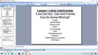 Professional Responsibility California Bar Prep - Powerpoint - and video lecture