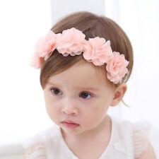 Bandeau Fleur De Bébé Fille Ruban à Cheveux Accessoires Cheveux Faits à La Main