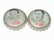 lot of 2 1964-65 Coke hockey caps Paille/Bucyk