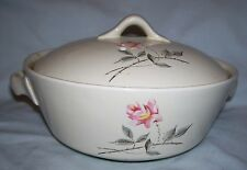 1.25 qt covered ovenproof casserole dish Ballerina Universal 1950s Rosette Comde