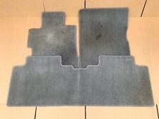 06-11 HONDA CIVIC SEDAN 4DR FLOOR MATS RUGS LINERS CARPET GRAY SET OF 4 OEM USED